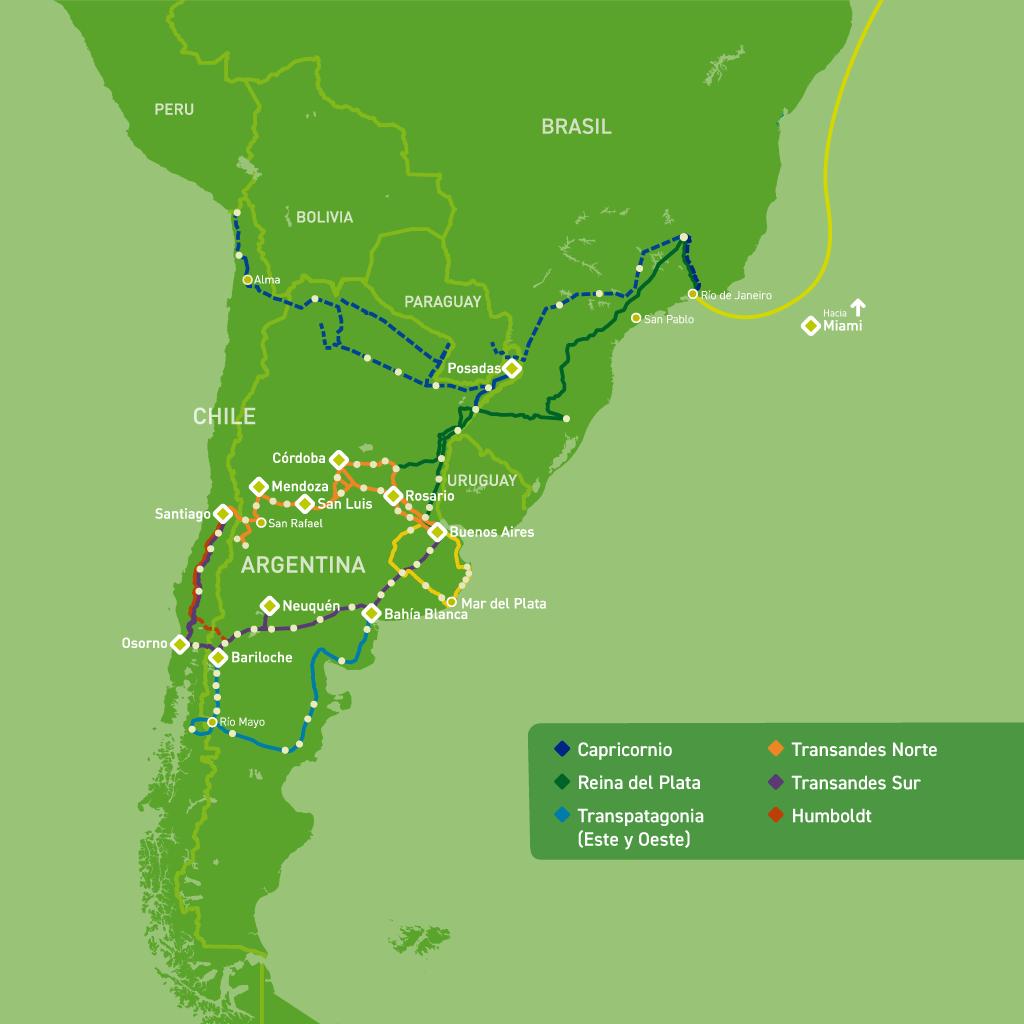 Mapa de traza de Silica Networks