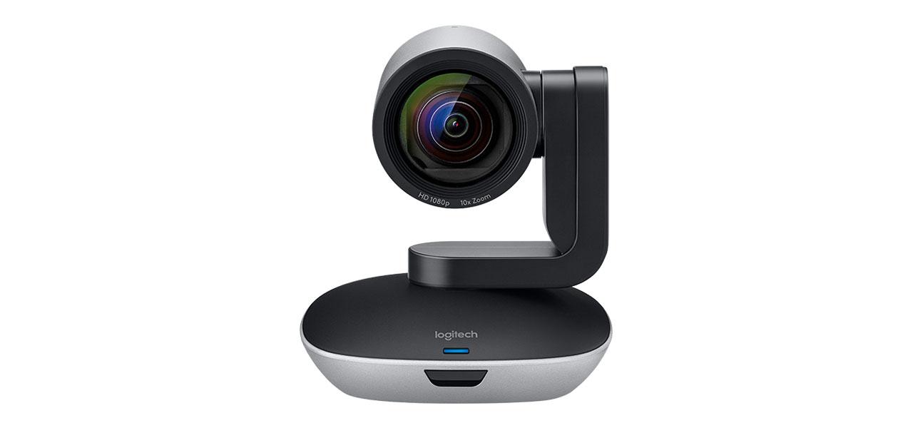post camara videoconferencia remoto logitech ptz pro 2